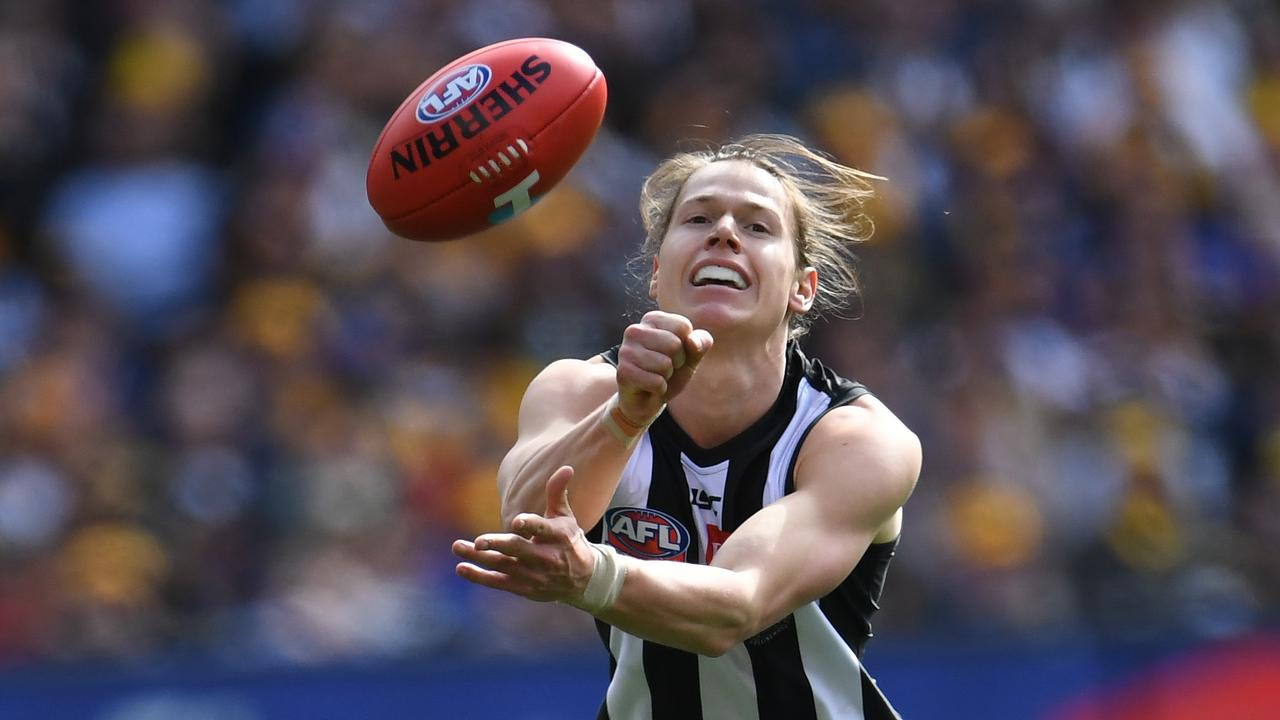 Tom Langdon of the Magpies received one Norm Smith medal vote.