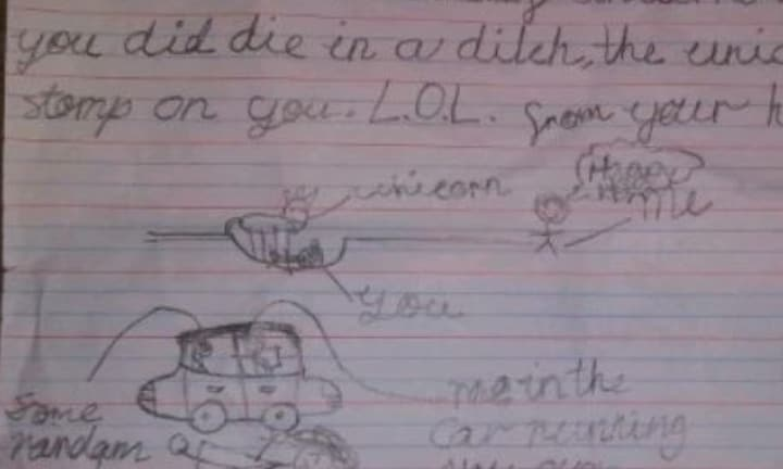 QLD girl terrified to go back to school after receiving death threat note