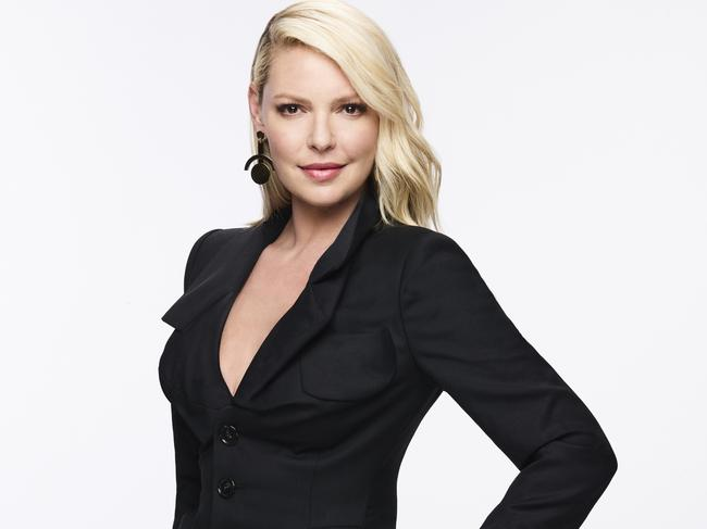 Katherine Heigl's character Samantha Wheeler was introduced at the beginning of the eighth season. Picture: Andrew Eccles/USA Network