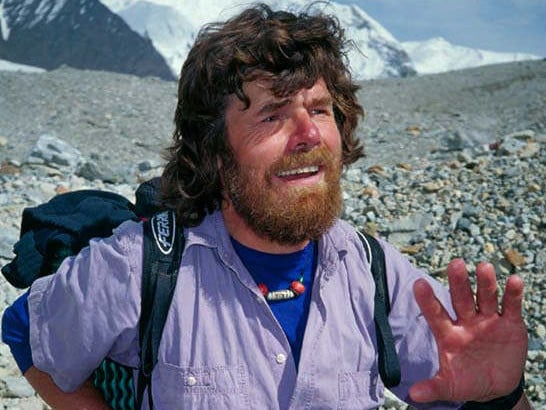 Mountaineer Reinhold Messner completes first solo climb of Mount Everest.
