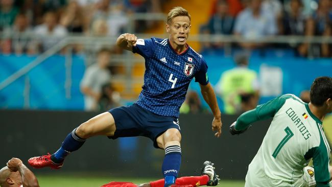 Keisuke Honda says he is still negotiating. Picture: AFP