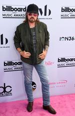 Billy Ray Cyrus attends the 2017 Billboard Music Awards at T-Mobile Arena on May 21, 2017 in Las Vegas, Nevada. Picture: AFP