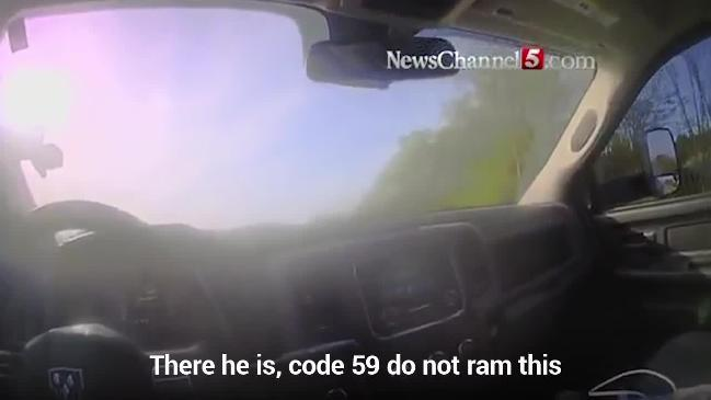 Deputy's bodycam captures order to use deadly force in police chase