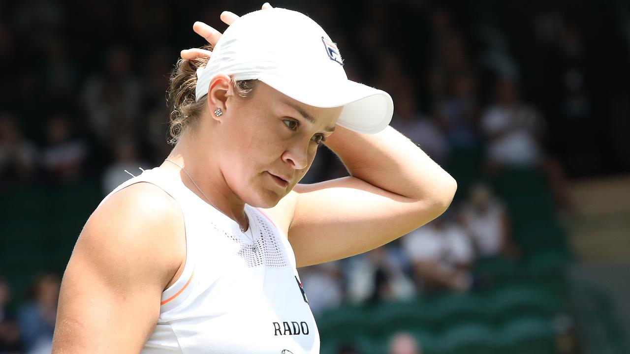 There will be an Aussie in the corner of Ash Barty's opponent. Picture: Ella Pellegrini
