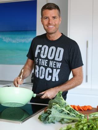 Followed a Paleo diet for more than three years ... celebrity chef, Pete Evans. Picture: News Corp Australia