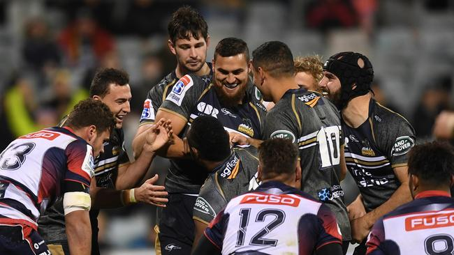 The Brumbies wrapped up the Australian conference on Saturday night.