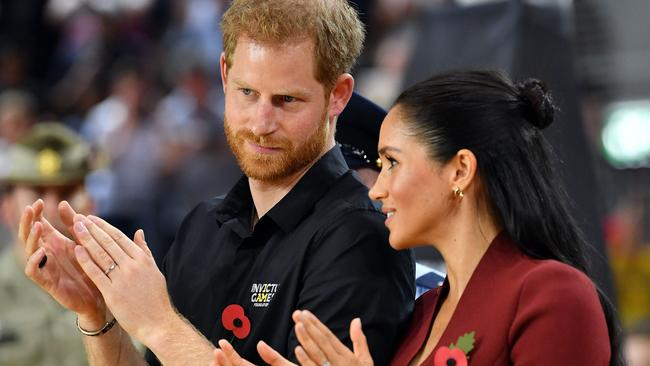 Meghan's got Harry on a bit of a health kick. Picture: Saeed Khan/AFP
