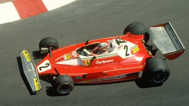 The 1976 Ferrari won six races and nearly the title. Pic: Tony Duffy/Allsport