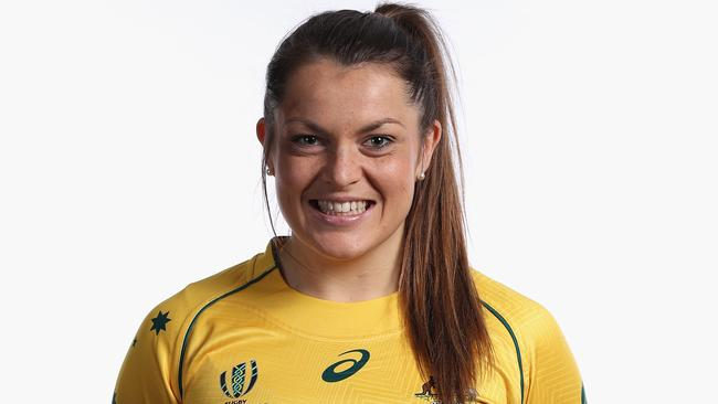 No 8 Grace Hamilton was immense for the Wallaroos.