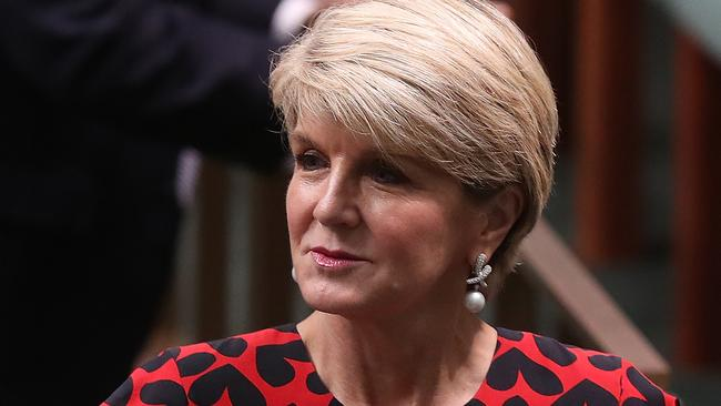 Julie Bishop welcomed the charges over the disaster. Picture: Kym Smith