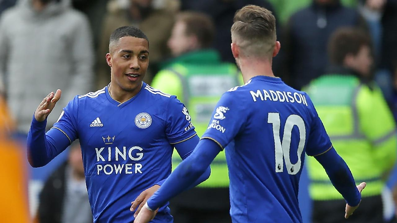 Tielemans formed a strong partnership with James Maddison in Leicester's midfield.