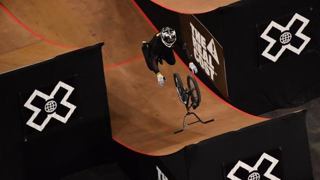 Australian rider Ryan Williams has landed the world's first 'Free Willy' trick at the X Games.