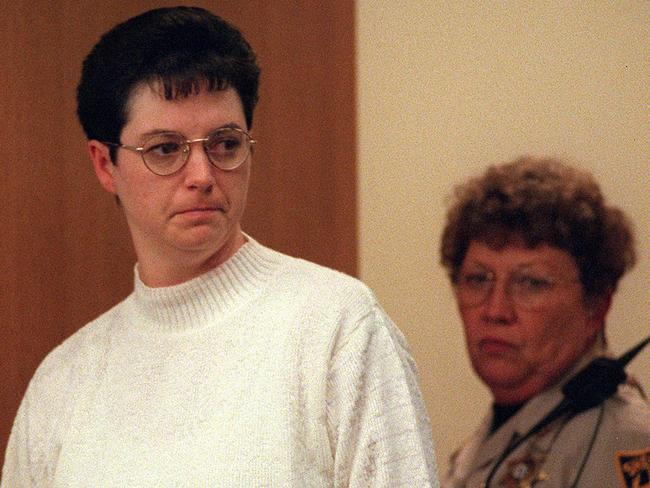 Gissendaner during her trial in 1998. Picture: Atlanta Journal-Constitution.