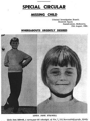Missing poster for Linda Stilwell.
