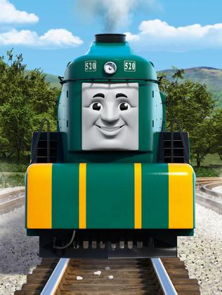 Thomas the Tank Engine's new Aussie mate to debut in movie