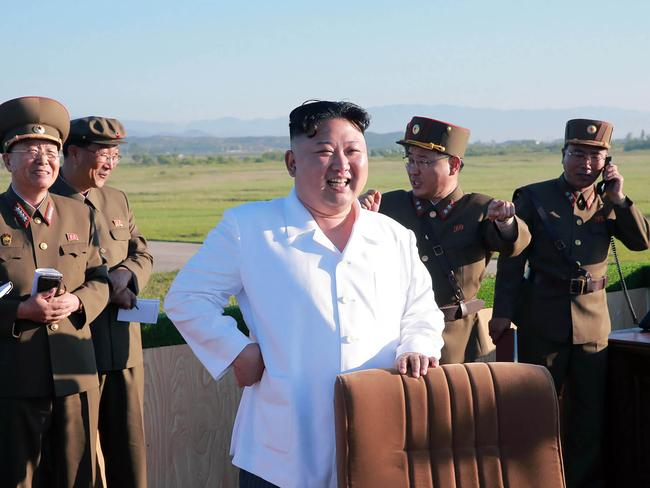 North Korean leader Kim Jong-Un has made his most ominous threats to the US yet. Picture: AFP