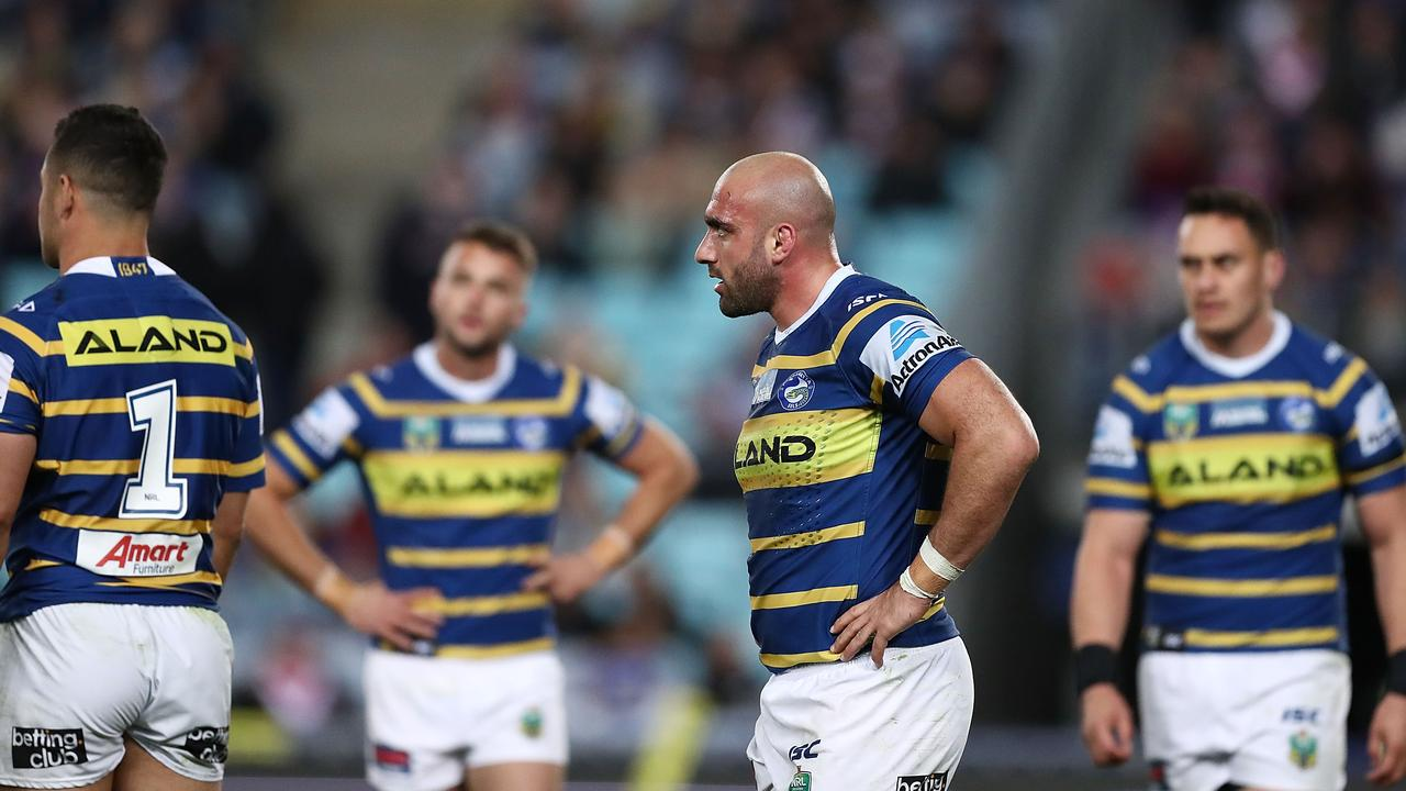 It's been another season to forget at Parramatta.