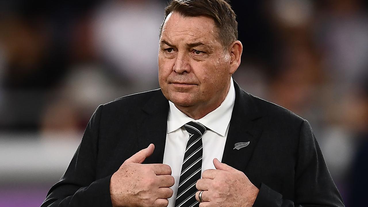 New Zealand's former head coach Steve Hansen.