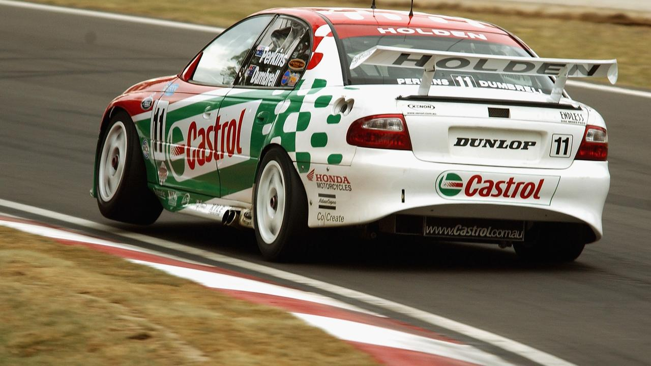 Perkins paired with Paul Dumbrell at that year's Bathurst 1000.