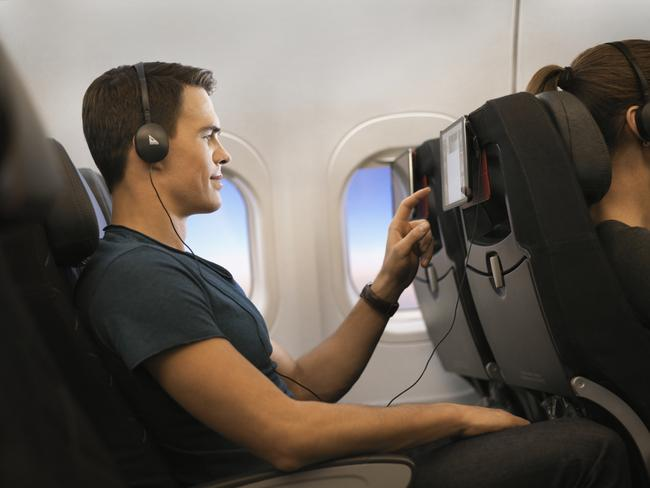 It's the day music has died, on Qantas. Picture: Qantas