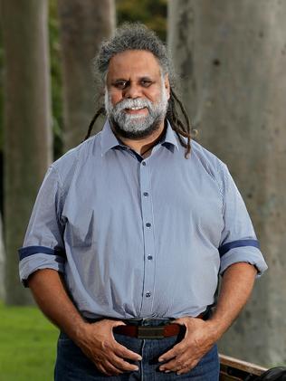 Indigenous rights activist Kado Muir, photographed at Kings Park.