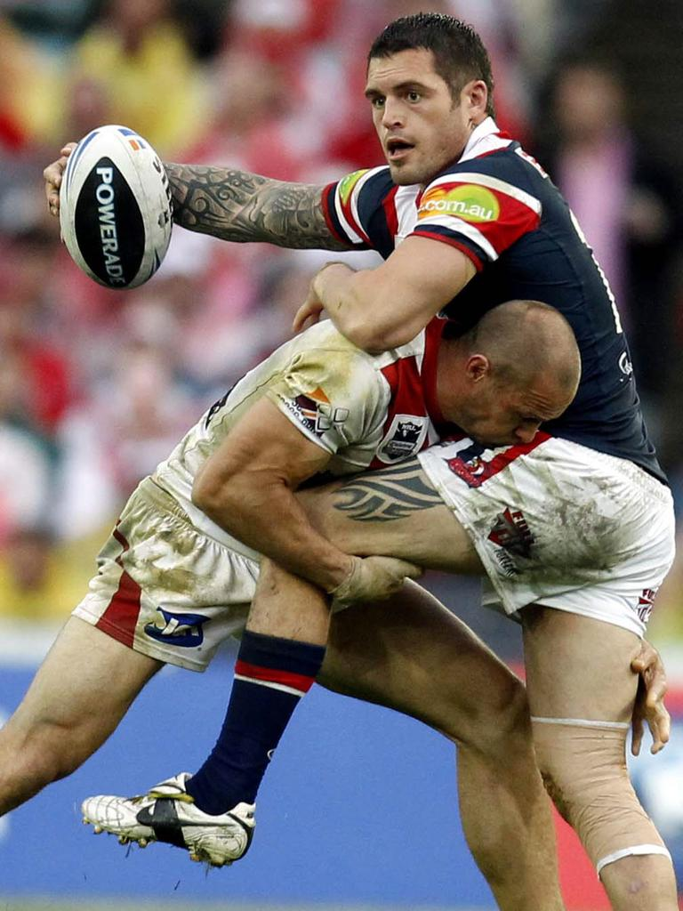 Daniel Conn in action during the 2010 grand final against St George Illawarra.