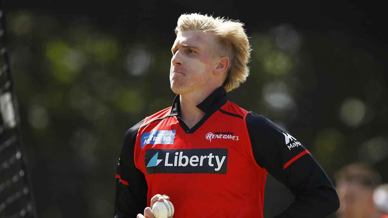 Will Sutherland was hit with a $5,000 fine for breaching biosecurity measures during the Big Bash League.