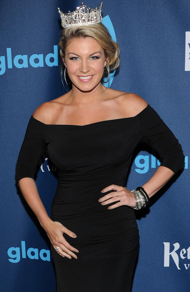 Miss America Mallory Hagan in 2013 in New York. Picture: AP