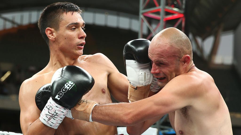 Tim Tsyzu shows boxing is well and truly in his genes with ...