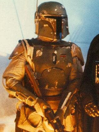Jeremy Bulloch as Boba Fett, from  <i>The Empire Strikes Back</i> in 1980. Picture: Lucasfilm