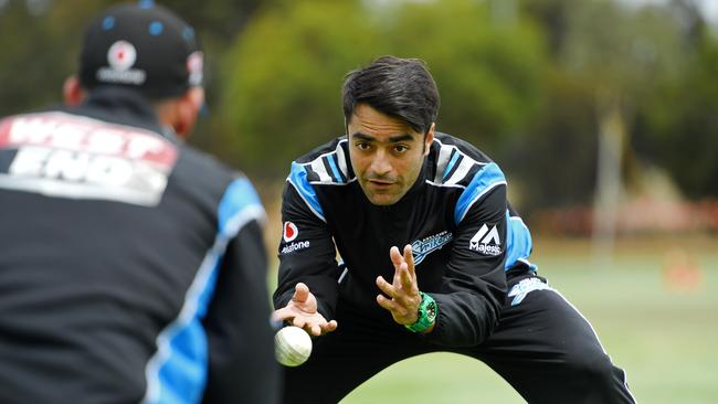 Strikers player Rashid Khan. Check him out at the Big Bash Leagure. Picture: Tom Huntley