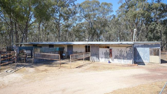 Old school stables in Ascot, Victoria. Picture: Supplied