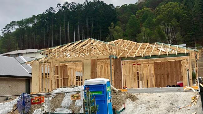 Queenslander Kris Hanny is building his first home.