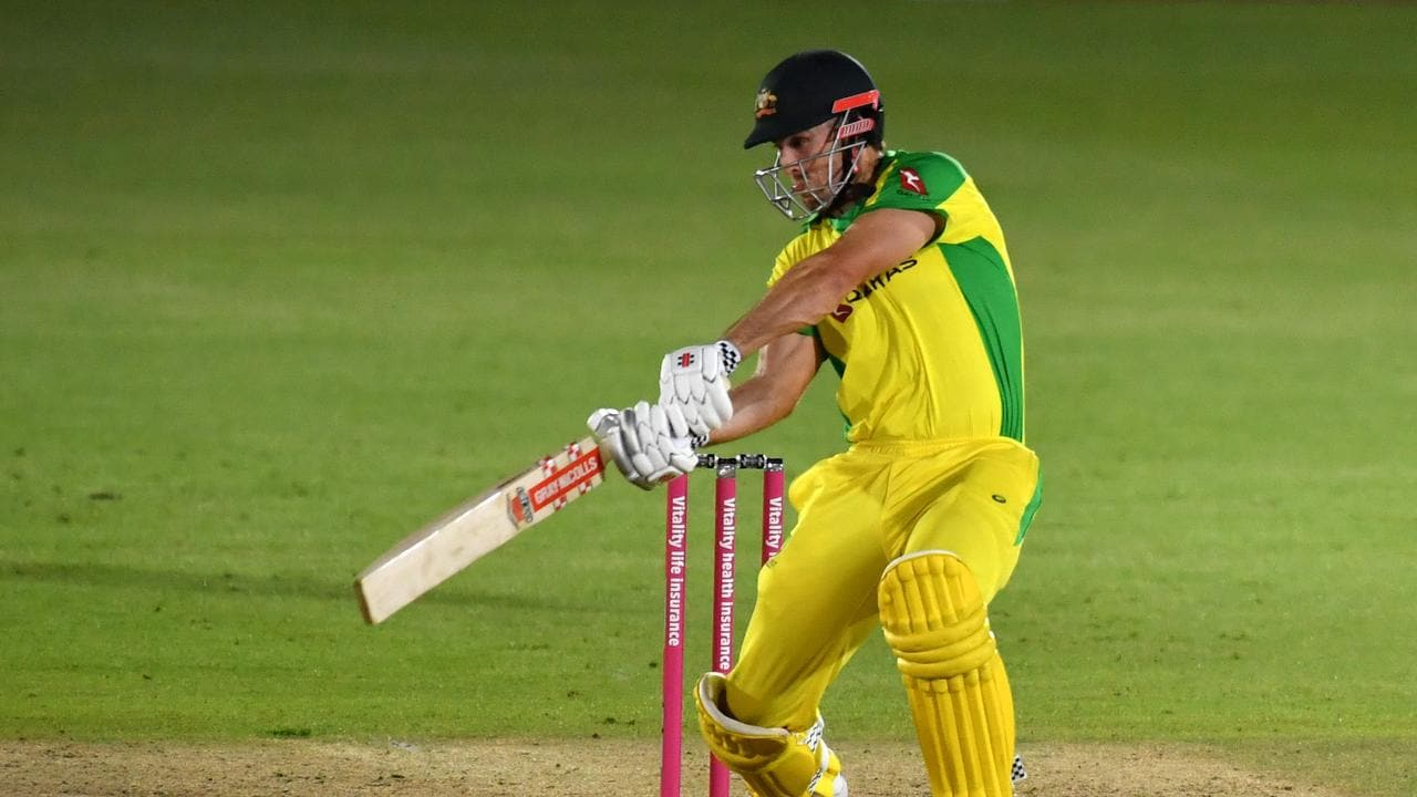 Mitch Marsh delivered for Australia in the third T20.