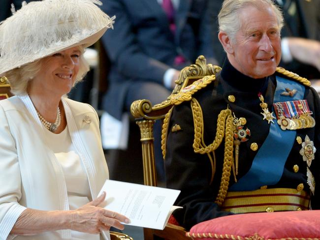 Ceremonial show ... The first tour of Prince Charles, Prince of Wales, and Camilla, Duchess of Cornwall to Australia was regarded to be a resounding success. Source: AP