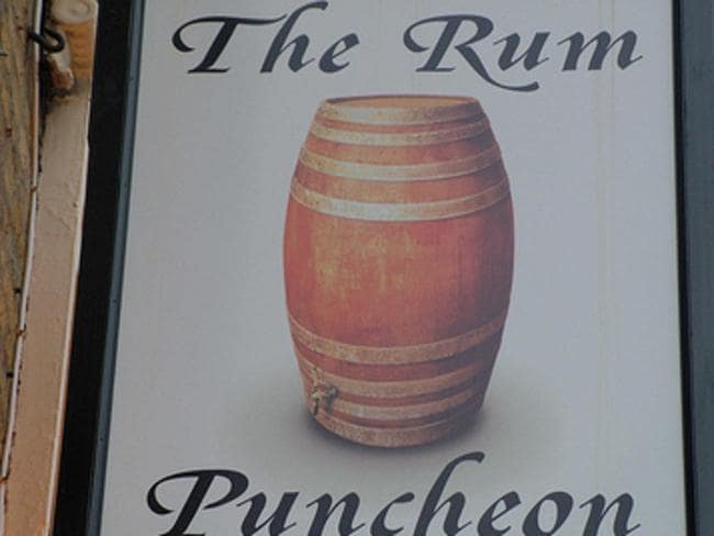 The Rum Puncheon Pub In Kent Uk Bans Swearing