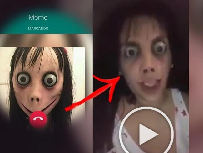 The artist who built Momo back in 2016 has proclaimed that 'the curse is gone'.