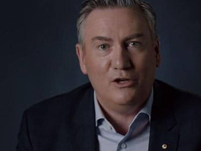Eddie McGuire in the doco, which aired last night.