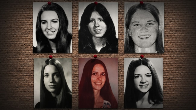 Before his execution, Bundy confessed to 30 homicides of young women. Image: Netflix
