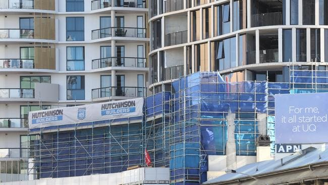 """One property commentator warns Brisbane's unit market is headed for a """"bloodbath"""". Photo: Adam Armstrong."""