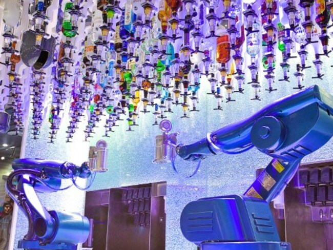 Robotic bartenders ... what could go wrong?