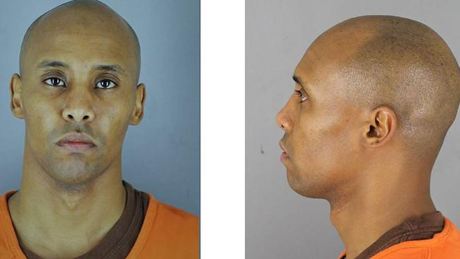 Twitter image of police mugshot following the guilty verdict of Police Officer Mohamed Noor for the murder of Justine Damond in Minneapolis. Picture: Supplied