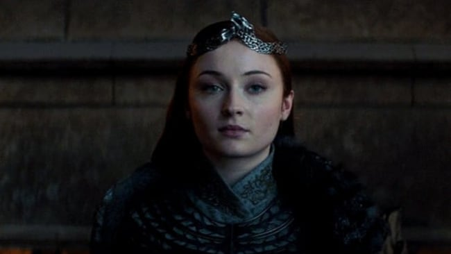 Nothing but respect for MY Queen of the North. Image: HBO