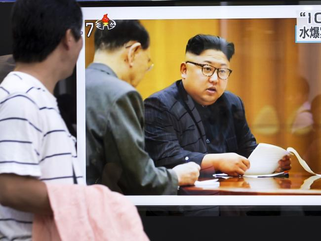 North Korea reports its 6th nuclear test. Picture: Getty