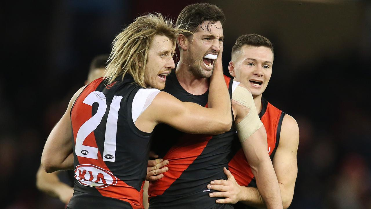 Essendon's midfield needs to step up in 2019. Photo: Michael Klein