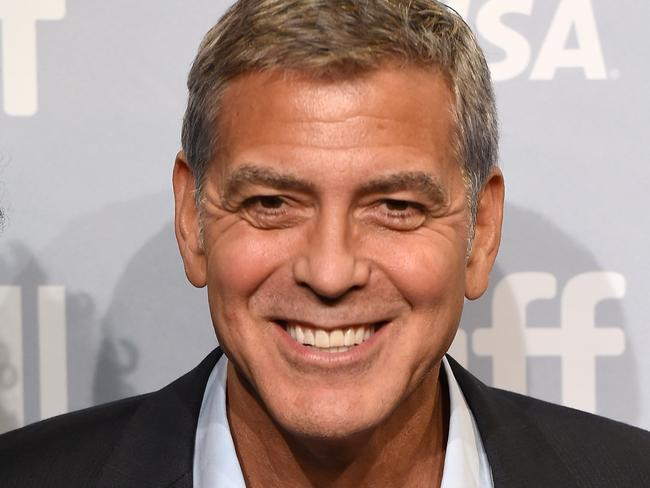George Clooney is furious with Donald Trump. Picture: Getty