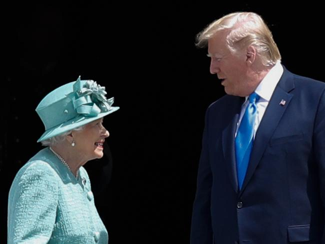 The Queen handed over parts of her responsibility to her son Charles in a sign she is preparing for a transition of power. Picture: Adrian DENNIS / AFP.