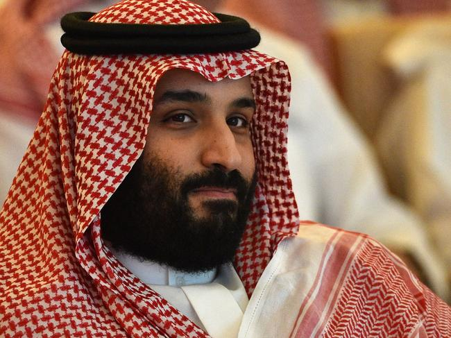 Saudi Crown Prince Mohammed bin Salman. Picture: AFP