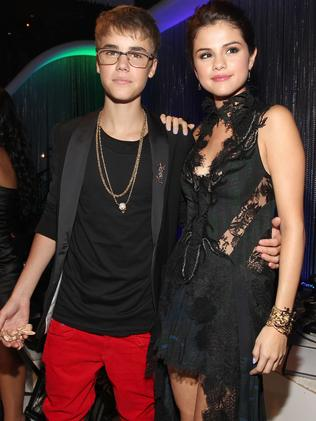 Justin Bieber and Selena Gomez in happier days. Picture: Getty Images