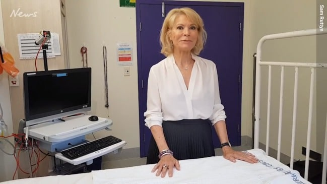 Leading the charge for sids cure, Dr Carmel Harrington.